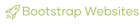 Bootstrap Websites logo